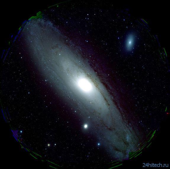 Кадр Дня: галактика Андромеды в высоком разрешении