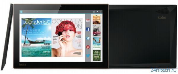 Kobo Arc 10HD — Android-планшет на Tegra 4