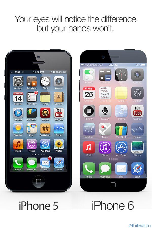 Концепт смартфона iPhone 6 (11 фото)