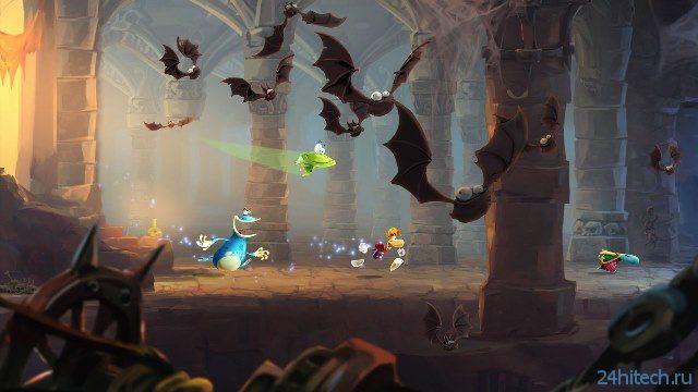 Критики в восторге от Rayman Legends