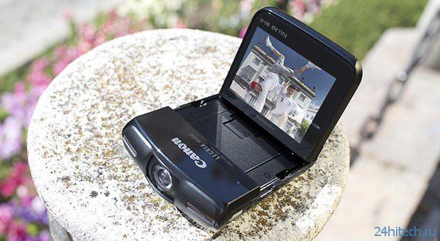 Legria - новая компактная FullHD камера от Canon (видео)