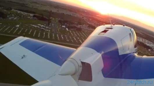 Летающий автомобиль Terrafugia Transition совершил еще один полет