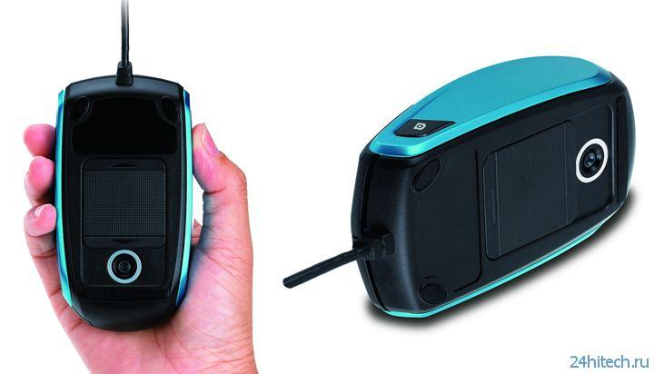 Мышь Genius Cam Mouse со встроенной камерой