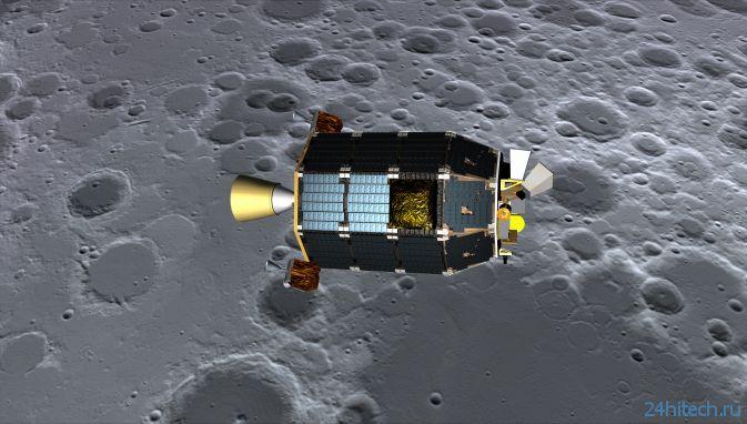 NASA запускает космический аппарат на Луну