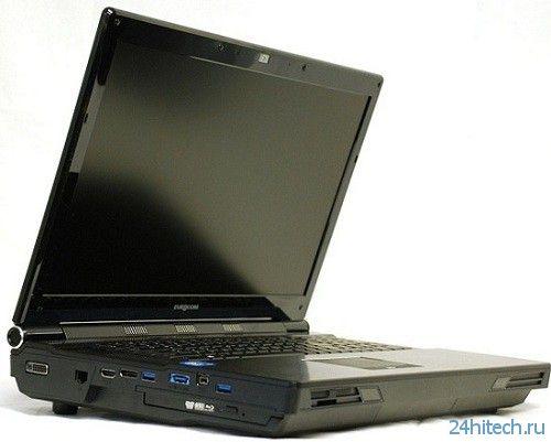 Ноутбук Eurocom Panther 4.0 предлагается с 6 Тбайт дискового пространства