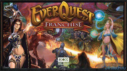 Новая EverQuest будет создаваться на основе воксельной технологии