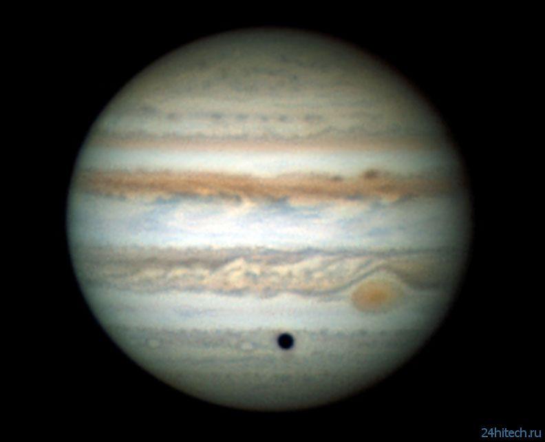 Новое фото Юпитера от астрофотографа