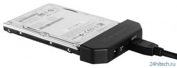 Новые периферийные продукты от SilverStone: переходник USB 3.0-SATA и внешний корпус для накопителей