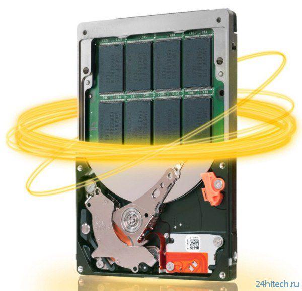 Новый 3,5-дюймовый гибридный SSHD-накопитель от компании Seagate