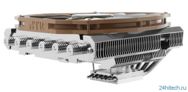 Новый низкопрофильный процессорный кулер Thermalright AXP-200 для компактных систем