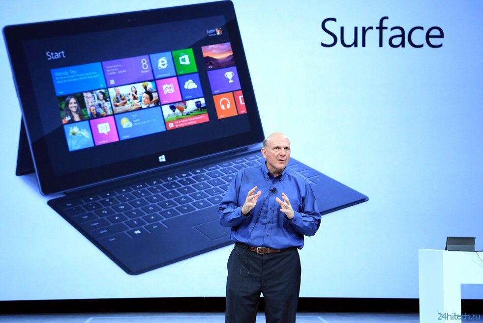 Nvidia работает над Microsoft Surface 2