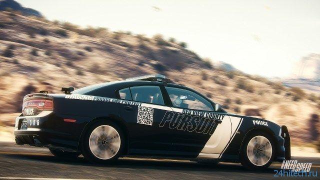 Полицейские машины в NFS: Rivals можно будет раскрашивать