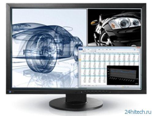 Представлен монитор EIZO FlexScan EV2436W-Z со встроенным датчиком освещенности