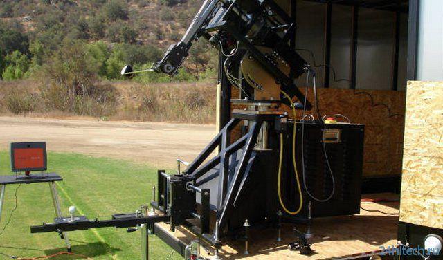 Робот победит игрока в гольф