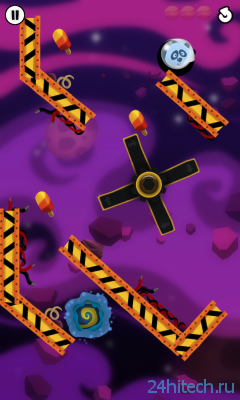 Roll In The Hole 1.0. Забавная игра-платформер