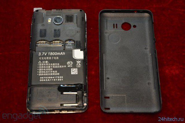 Смартфон Daxian N100i со встроенной вилкой (6 фото + видео)