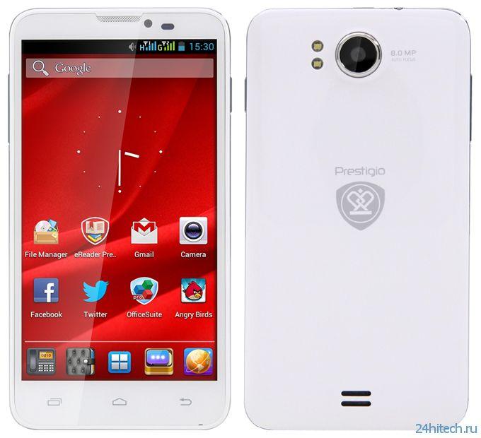 Смартфон MultiPhone 5300 DUO с 5,3-дюймовым дисплеем