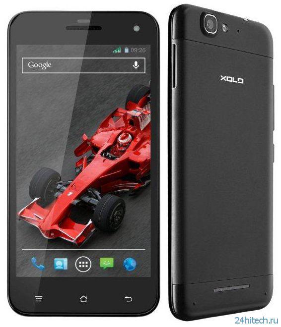 Смартфон Xolo Q1000S на четырехъядерном процессоре представлен официально