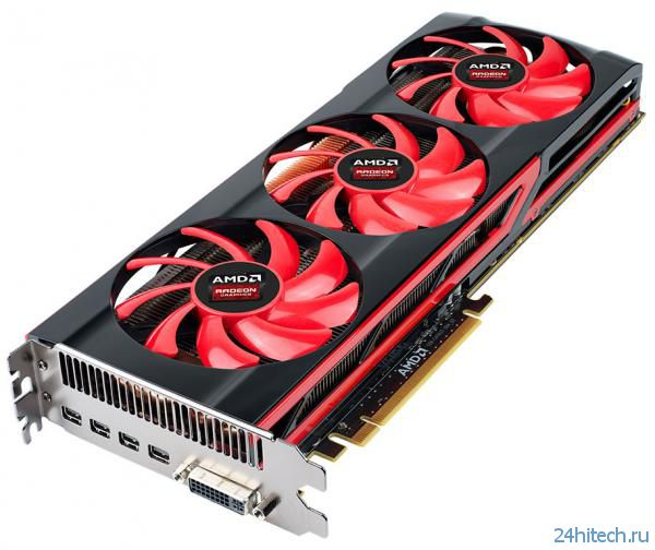 Цены на видеокарту AMD Radeon HD 7990 снижены до 9