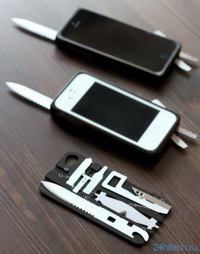 Taskone - швейцарский нож для владельцев iPhone (6 фото)