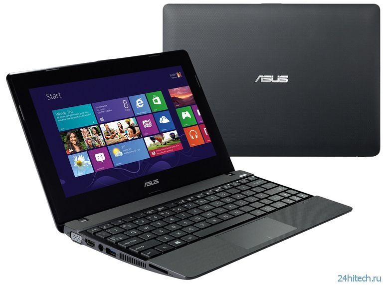 "Тонкий 10,1""ноутбук ASUS VivoBook X102BA на чипе AMD Temash"