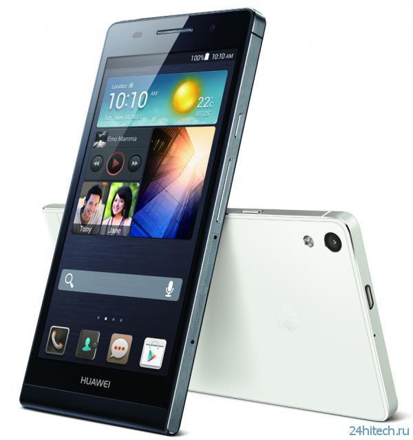 Ультратонкий смартфон Huawei Ascend P6 эксклюзивно в «Фокстроте»