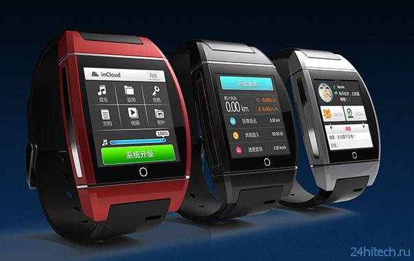 «Умные» часы inWatch One с поддержкой GSM-связи