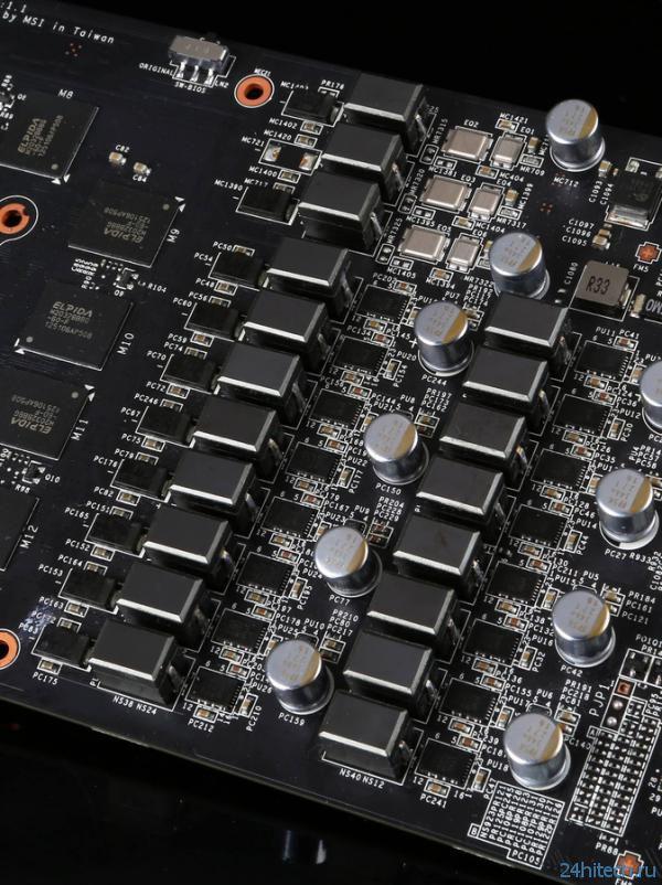 Видеокарта MSI GeForce GTX 780 Lightning с кулером TriFrozr за 0