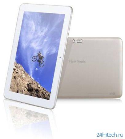 "ViewSonic ViewPad 100Q: 10,1""планшет на процессоре Rockchip RK3188"