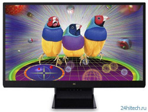 ViewSonic анонсировала 27-дюймовый Full HD монитор ViewSonic VX2770Sml-LED