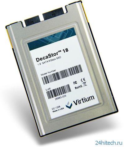 """Virtium представила 1,8""""и 2,5"""" SSD серии DecaStor с SATA III"""