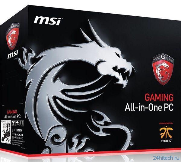 Высокопроизводительный игровой моноблок MSI AG2712A Gaming официально анонсирован
