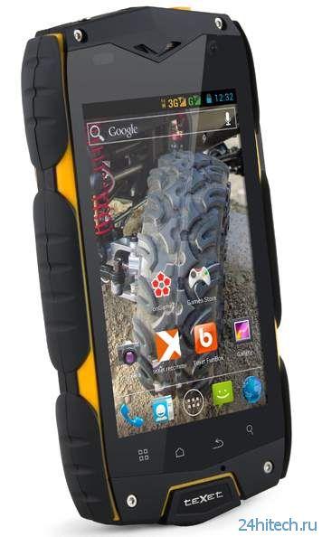 Защищенный смартфон teXet X-driver для мужчин