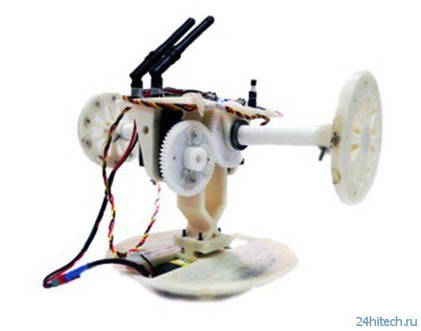 А теперь робот-колобок