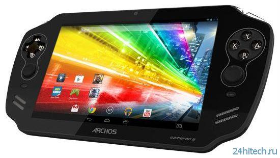 """ARCHOS подготовила 7""""планшет-консоль GamePad второго поколения"""