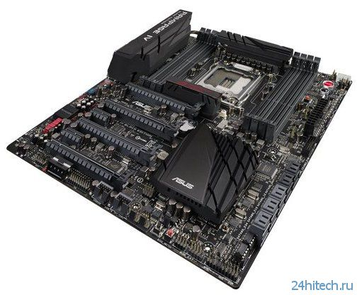 ASUS выпустила новую материнскую плату для процессоров Intel Ivy Bridge