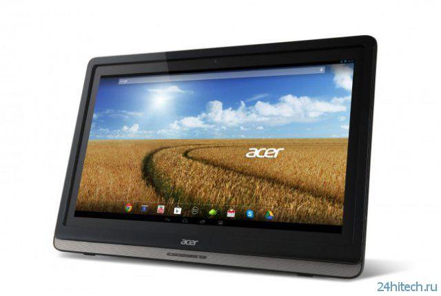 Acer анонсировали 24-дюймовый моноблок на Android (4 фото)