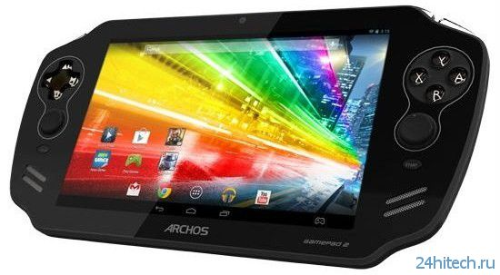 Archos GamePad 2 - мощная портативная игровая консоль на базе Android