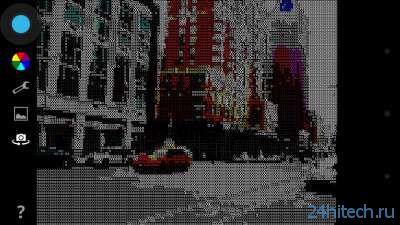 AsciiCam 1.1 Программа для съёмки в ASCII