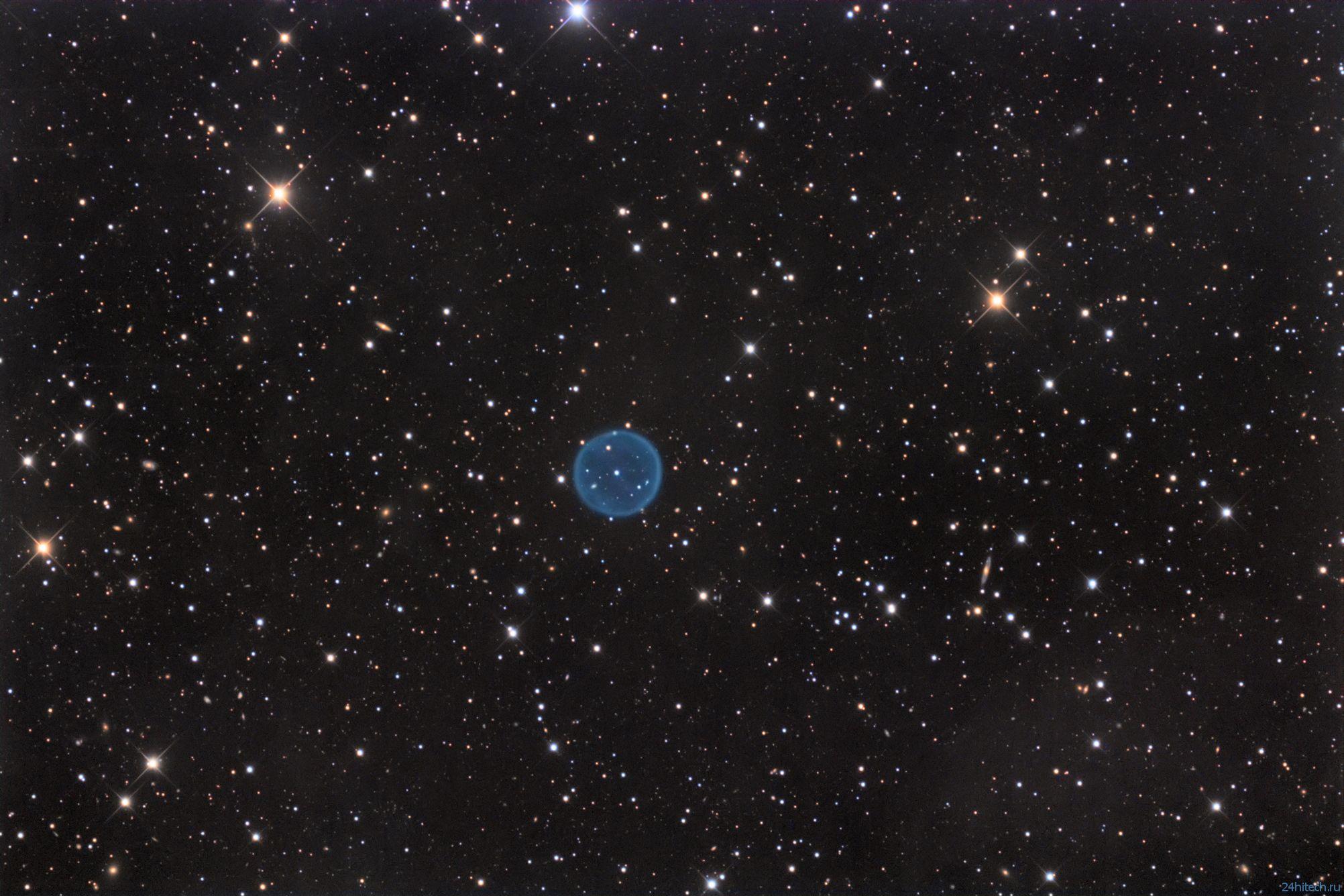 Астрофотограф-ветеран сделал супер-фото планетарной туманности