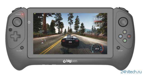 Bigben GameTab-One — игровой планшет со съемным контроллером
