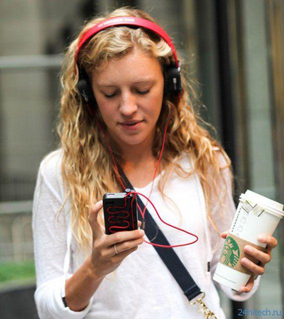Cordli - кейс для iPhone с удобным расположением провода наушников (видео)