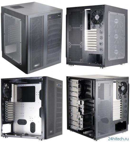 Двухкамерный корпус-гигант Lian Li PC-D600 из алюминия