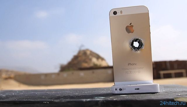 Экстремальные краш-тесты iPhone 5S (2 видео)