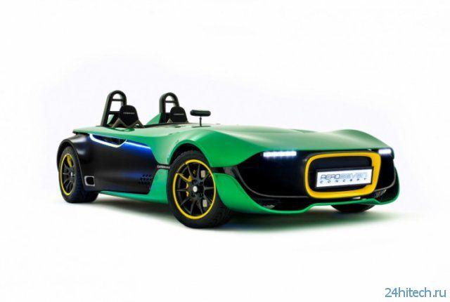 Фантастичный автомобиль с реальным будущим (видео)