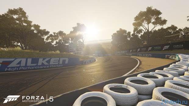 Forza Motorsport 5 поддерживает до 24 игроков и выделенные серверы