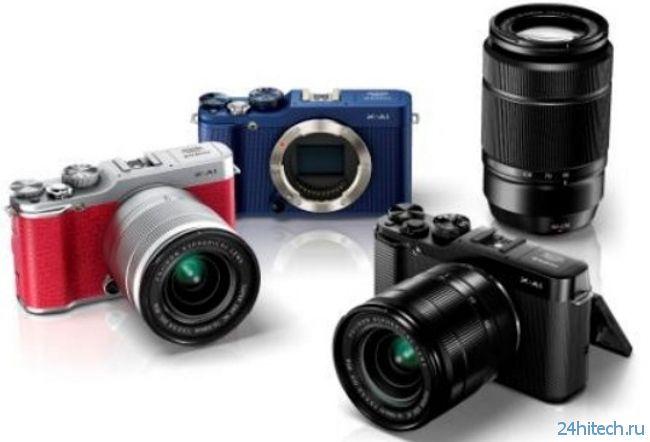 Fujifilm X-M1: фотографии несуществующей камеры в стиле ретро