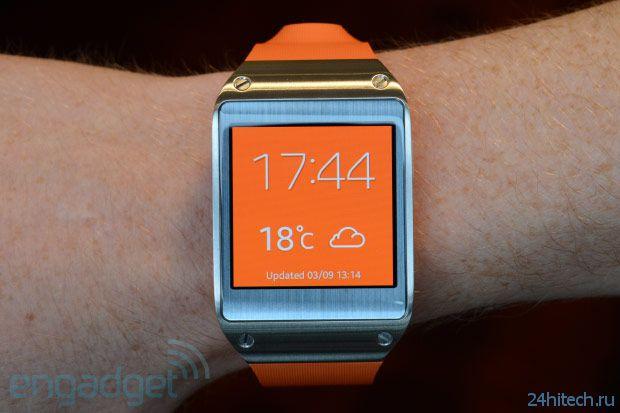 Galaxy Gear - умные часы от Samsung (5 фото + видео)