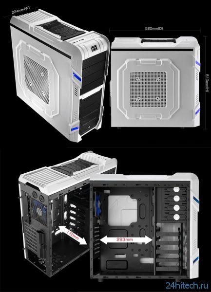 Игровой корпус Aerocool GT-R для участников LAN Party
