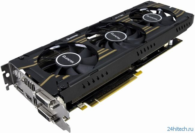 Leadtek выпустила ускоритель GeForce GTX 780 Hurricane III